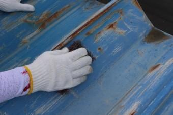 工場屋根塗装工事5