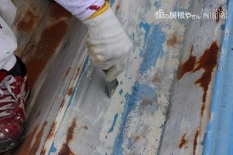 工場屋根塗装工事6