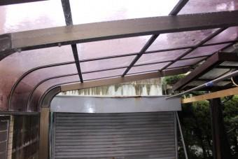 カーポート屋根修理7
