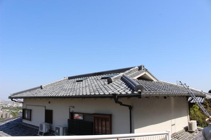 瓦屋根雨漏り調査2