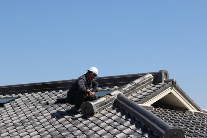 瓦屋根雨漏り調査4