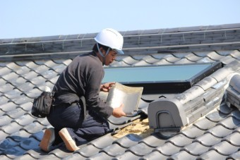 瓦屋根補修