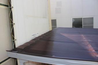 工場波板修理9
