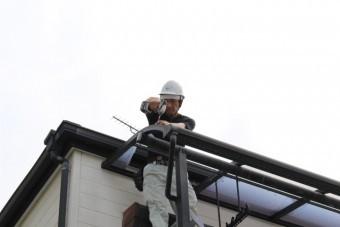 テラス屋根修理5