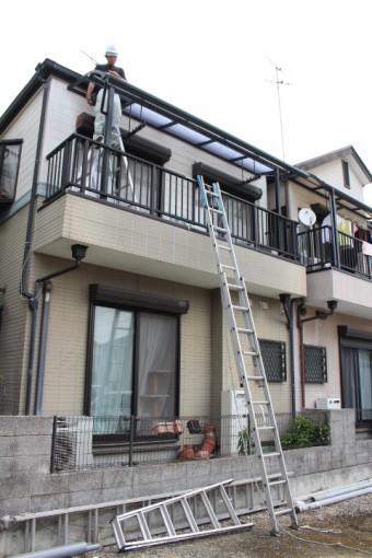テラス屋根修理4