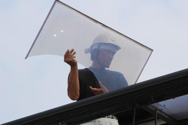 テラス屋根修理7