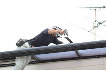 テラス屋根修理6