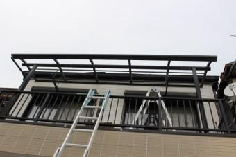 テラス屋根修理9