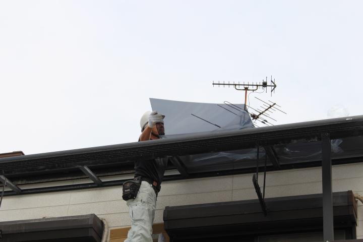 テラス屋根修理12