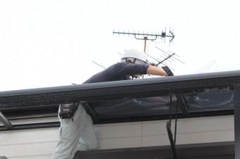 テラス屋根修理13
