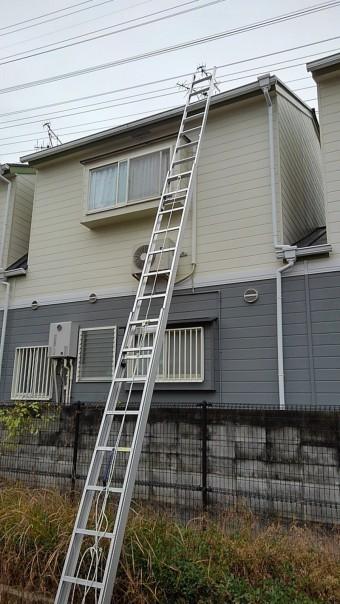 天窓ガラス交換現場調査7