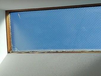 天窓ガラス交換現場調査3