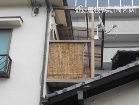 波板テラス屋根