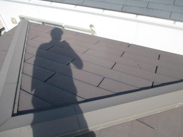 西宮市カラーベスト屋根点検作業
