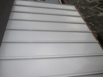 トタン屋根塗装後