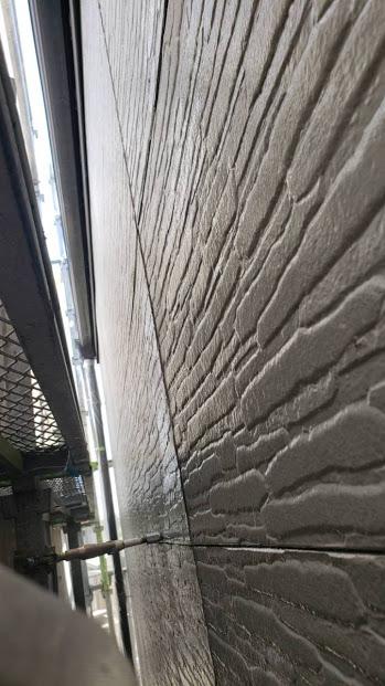 尼崎市窯業系サイディング面上塗り完了