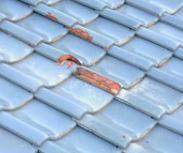屋根の凍害