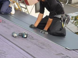 屋根材カバー
