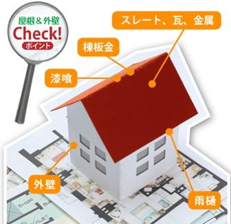 屋根壁のチェックポイント
