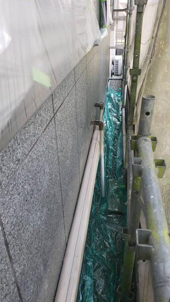 尼崎市窯業系サイディング塗装前