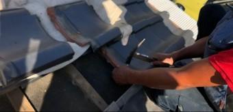 西宮市築25年木造平屋の瓦屋根修繕工事