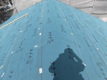 屋根カバー工事4