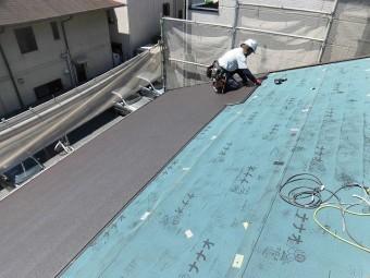 屋根カバー工事8
