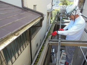 テラス屋根交換工事3