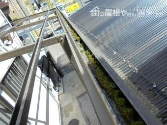 テラス屋根交換工事4