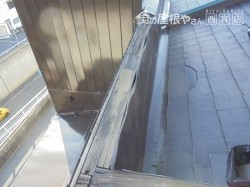 屋上笠木修理前1