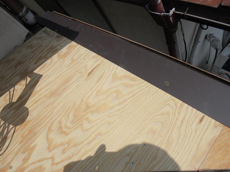 西宮市庇屋根修理5