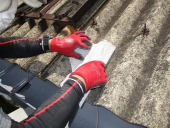 工場屋根雨漏り修理2