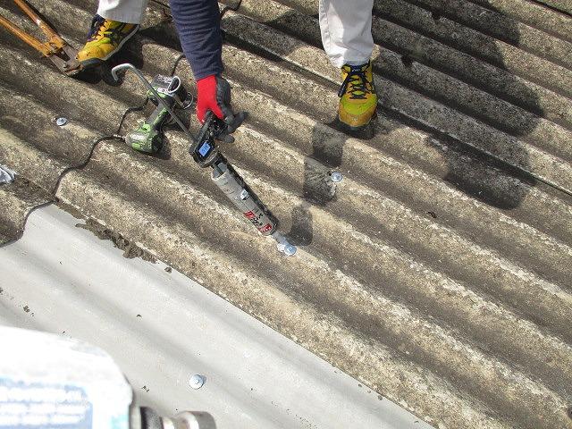 工場屋根雨漏り修理4