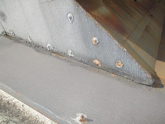 工場屋根雨漏り修理6